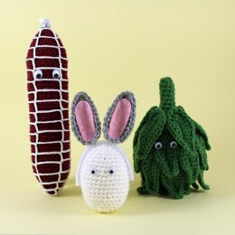 Easter amigurumi collection