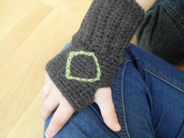 Toddler fingerless gloves/mittens