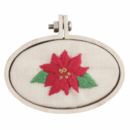Groves Frame: Mini Embroidery Hoop:  Oval: 60 x 40mm - Pack of 3