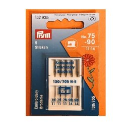 Prym Machine Needles Embroidery - Mix