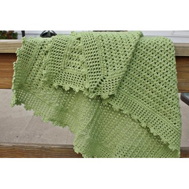 Green Cuddles Baby Blanket