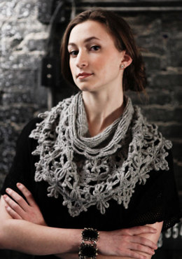 Loken Cowl in Berroco Flicker Aran