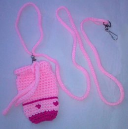 Precious in Pink Dog Leash with waste bag holder