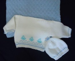 Seaside Baby Gift Set