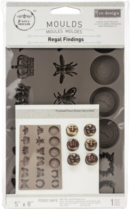 "Prima Marketing Re-Design Mould 5""X8""X8mm - Regal Findings"