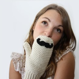 Mustache Mitts