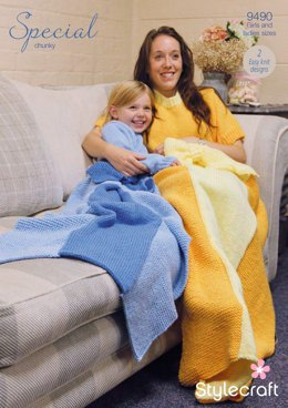 Princess Blankets in Stylecraft Special Chunky - 9490 - Downloadable PDF