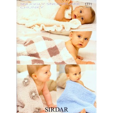 Blankets in Sirdar Snuggly Snowflake Chunky - 1771