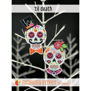 Satsuma Street Til Death Cross Stitch Kit