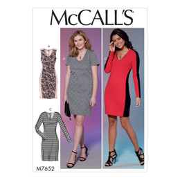 13229d1d44e McCall s Misses  Miss Petite Women s Women s Petite Dresses with Side  Panels and