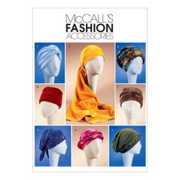 McCall's Misses' Turban, Headwrap & Caps M4116 - Sewing Pattern