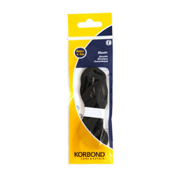 Korbond Elastic Black - 6mm x 3m