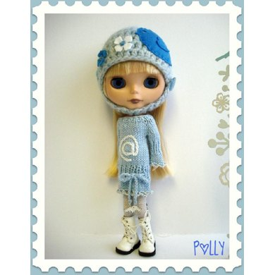 Sweet Tweets sweater dress for Blythe
