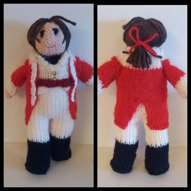 Mr Wickham doll knitting pattern, Pride & Prejudice, Jane Austen ...