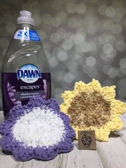 All-In-One Washcloth and Scrubby