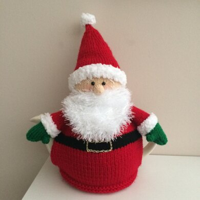 Father Christmas tea cosy