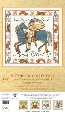 Creative World Of Crafts The Norman Conquest Cross Stitch Kit