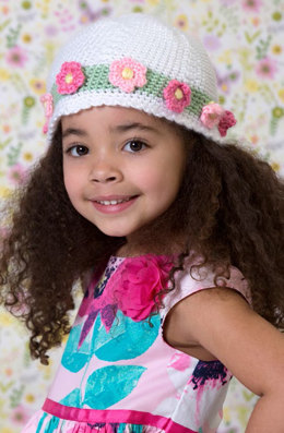 Easter Parade Hat in Red Heart Soft Baby Steps - LW4739EN