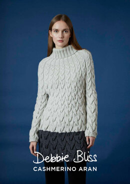 Gudrun Sweater in Debbie Bliss Cashmerino Aran - DB196 - Downloadable PDF