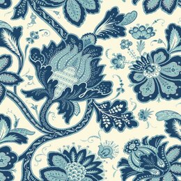 Andover Annabelle - Main Floral Blue