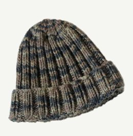 Camo Hat in Blue Sky Fibers - T4 - Downloadable PDF