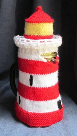 Lighthouse Coffee Pot Cosy