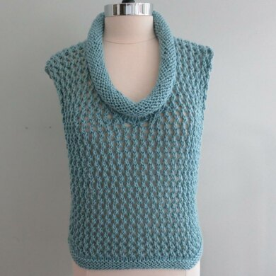 Abigail Cowl Vest Two Worsted