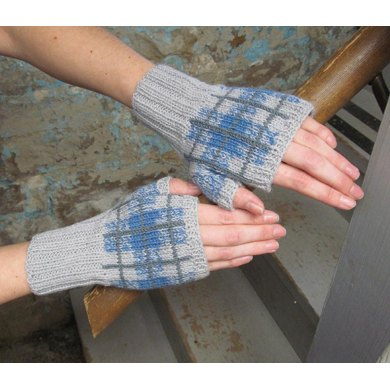 Cuthaig Plaid Mitts