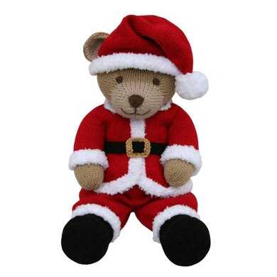 Santa Suit Outfit (Knit a Teddy)