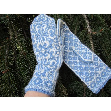 Norwegian Snowflake Knitting Pattern By Kulabra Designs Knitting