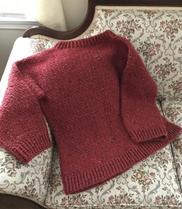 My First Crocheted Sweater
