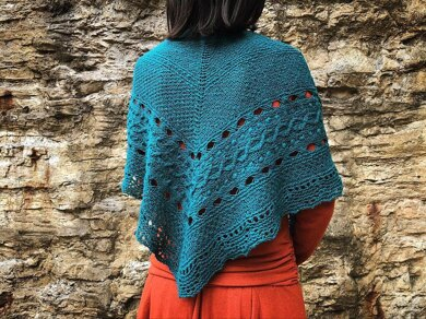 Wilderland  Shawl 荒原披肩