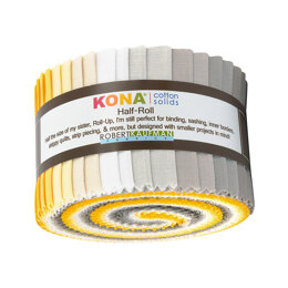 Robert Kaufman Kona Cotton Solids 2.5in Strip Roll - HR-149-24