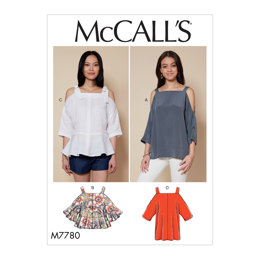 McCall's Misses' Tops M7780 - Sewing Pattern