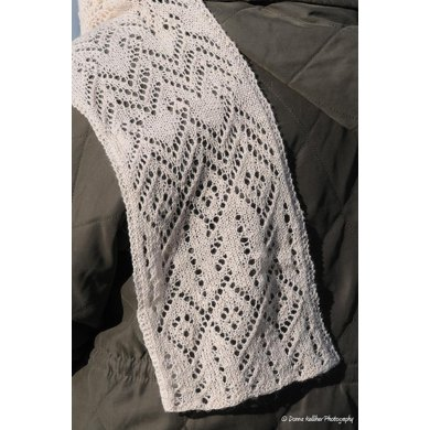 Aviator Scarf (Lace Weight)