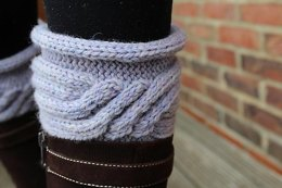 Carlota Cabled Boot Toppers