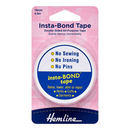 Hemline Insta-Bond Double Sided Tape