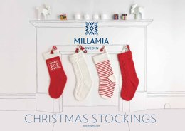 """Christmas Stockings"" - Stocking Knitting Pattern For Christmas in MillaMia Naturally Soft Merino"