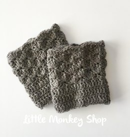 Shells Boot Cuffs for girls and women