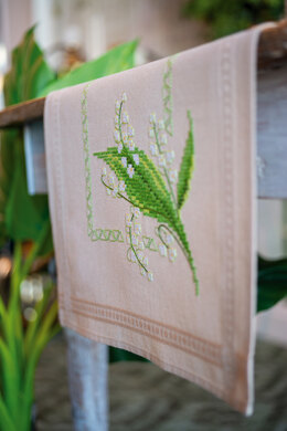 Vervaco Table Runner Kit Lily of the Valley