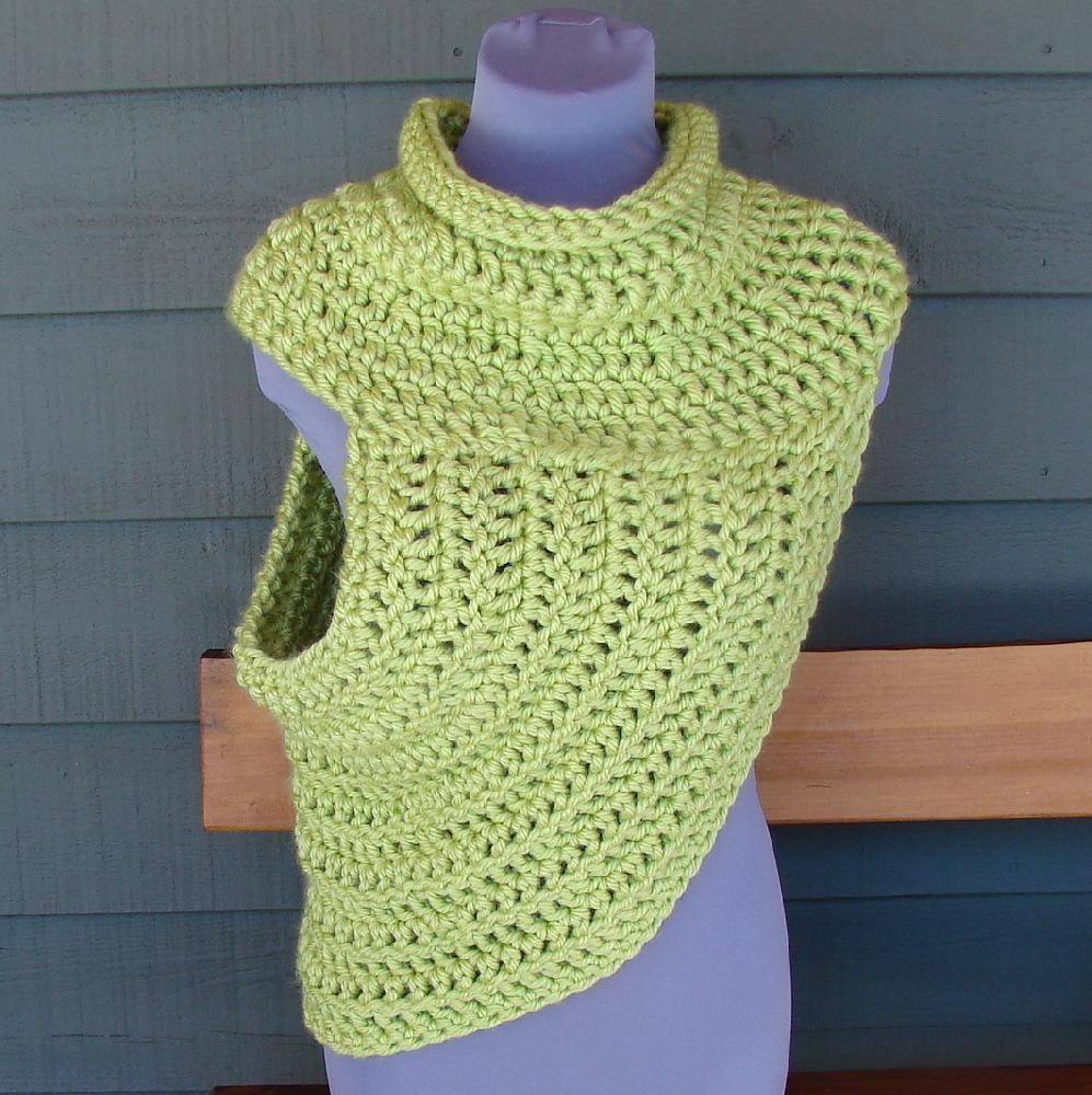 Katniss Easy Half Sweater - One Size Fits Most Crochet ...