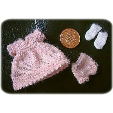 1:12th scale Toddlers dress set