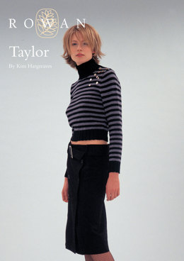 Taylor Sweater in Rowan Wool Cotton