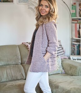 Shawl Pocket Cardigan