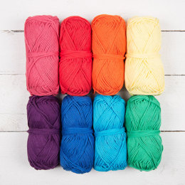 Rico  Creative Cotton Aran Color Pack Circus, 8 x 50g