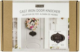 "Prima Marketing Re-Design Cast Iron Knocker - Welcome To Our Home 6.7""X5.9"""