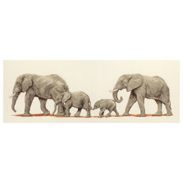 Anchor Elephant Stroll Cross Stitch Kit