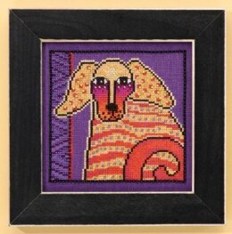 Mill Hill Goldie - Dogs Collection Beaded Cross Stitch Kit - Multi
