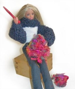 Chicks With Sticks - Criss-Cross Shrug & Speed Stix Playset in Lion Brand Wool-Ease