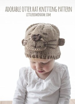 Adorable Otter Hat